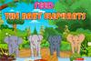 Bébés éléphants à nourir