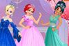 Bal royal pour jeunes filles