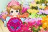 Une charmante fleuriste