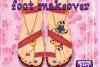 Une magnifique beauté des pieds