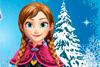 Maquille la princesse Anna