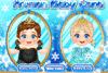 Bébé Anna ou Elsa