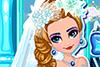 Jolie mariée d'hiver