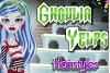Ghoulia Yelps chez la coiffeuse