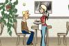 Jeux de fille : serveuse de restaurant