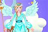 Barbie habillée en ange