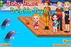 Bébé Hazel au parc des dauphins