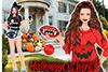 Halloween: déguisement d' Adèle