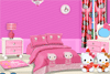 Chambre rose Hello Kitty