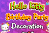 Décoration pour l'anniversaire d'Hello Kitty