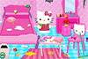 Range la chambre d'Hello Kitty