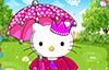 Journée de pluie avec Hello Kitty
