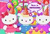 La fête d'anniversaire d'Hello Kitty