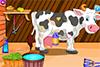 S'occuper d'une vache