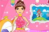 Vêtements de princesse à laver et repasser