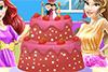 Décorer le gâteau de mariage d'une amie