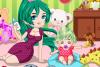 Habille bébé et sa Babysitter