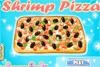 Pizza à la crevette