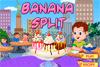 Banana split maison