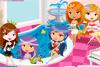 Des princesses au spa