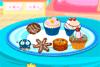 Assiette de cookies et cupcakes