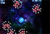 Boules dans l'espace