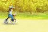 Jeu de course à vélo