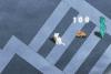 Jeux de fille : un chat adroit
