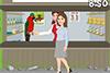 Vendeuse de perroquets