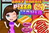Pizza avec bébé Barbie