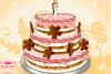Décore un gâteau de mariage