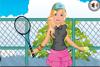 Barbie joueuse de tennis