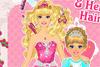Coiffure pour Barbie et sa Fille