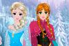 Coiffe Anna et Elsa