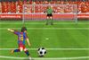 Tirs au but avec Lionel Messi