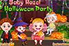 Bébé Hazel et Halloween