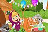 Jeux dans le jardin avec Marta