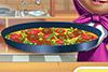Fait une pizza-tortilla avec Mana