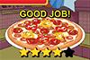 Pizza poivrons chorizo