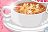 Soupe minestrone pour le dîner