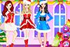 3 jolies mères Noël à habiller