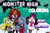 Coloriage des Monster High