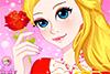 Maquillage et manucure pour princesse