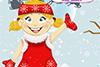 Poupée de Noël à habiller