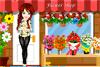 Décore un magasin de fleurs
