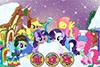 Petits poneys à habiller pour l'hiver