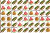 Burger Blast : jeu de lignes et briques