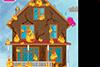 Maison brûlée à réparer
