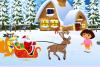 Père Noël et Dora