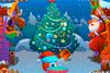 Amène les cadeaux au père-Noël